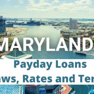 Payday Loans in Maryland